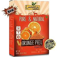 Luxura Sciences Pure Vitamin C Orange Peel Powder For Skin Whitening 200 Grams.(Santra Chilka)