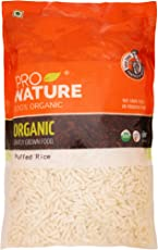 Pro Nature 100% Organic Puffed Rice, 200g