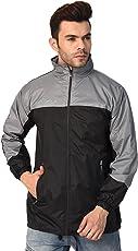 Derbenny Premium Quality Stylish & Comfortable Black Windcheater/Jacket for Men