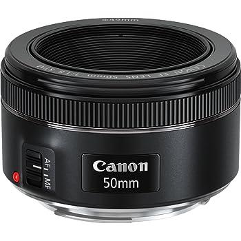 Canon EF 50 mm 1.8 STM Lens - Black