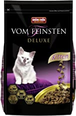 Animonda Vom Feinsten Deluxe Kitten Trockenfutter, für wachsende Katzen im ersten Lebensjahr, mit Geflügel