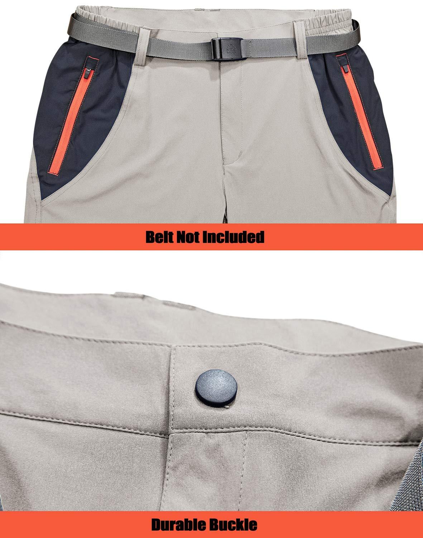 71NQ5f4siJL - TACVASEN Men's Lightweight Sport Walking Trousers Outdoor Hiking Pants with Zipper Pockets