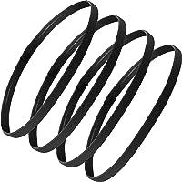 4 Pieces Thin Non-Slip Elastic Sports Headbands - Athletic Skinny Hair Headband for Women, Men, Boys, Girls - Silicone…