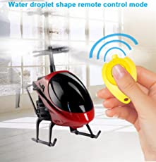 Magicwand Induction Type Hand Sensor Flying Indoor Helicopter with Remote for Kids (Multicolour)