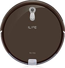ILIFE Robot A8 Saugroboter/automatischer Staubsauger ideal für Laminatboden und Teppich