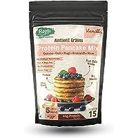 Rootz & Co. Healthy Instant Protein Pancake Mix 300gms (Vanilla) - Gluten Free, No Maida & No Added Sugar