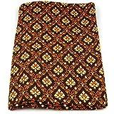 Thai Sarong Bett-Tuch Überwurf - MyThaiMassage - 172cm x 106cm (braun)