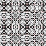36 Zementfliesen Fliesenbild