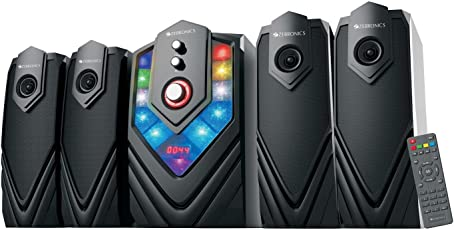 Zebronics ZEB-Samba BT RUCF 4.1 Multimedia Home Theatre System with Bluetooth (Black)