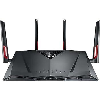 ASUS RT-AC88U - Router Gaming AC3100 Doble Banda Gigabit (triple VLAN, Ai-Mesh soportado, WTFast acelerador de juegos, compatible con DD-WRT)