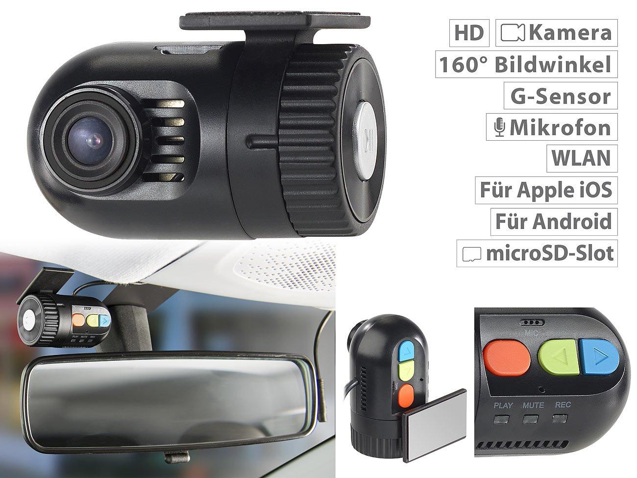 NavGear-Dashcam-kabellos-Mini-HD-Dashcam-MDV-1600av-mit-G-Sensor-WLAN-und-Smartphone-App-Dashcam-versteckt-Einbauen