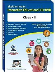 Skylearning CBSE Class 2 CD/DVD Combo Pack (English, Maths, Science, Hindi Vyakaran, Computer, G.K., EVS)