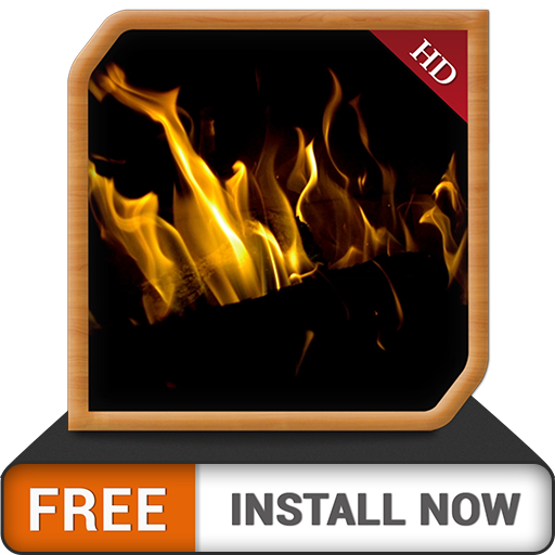 Dark Fireplace HD FREE - Enjoy the winter with hot romantic fireplace on your TV Screen (Fire App Remote Tv Amazon)