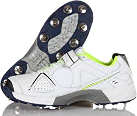 SG Hilite 4.0 Cricket Shoes Men Wh/Fluo/Blk