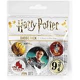 Pyramid International, Harry Potter Gryffindor Paquete Medalla, multicolore, 10 x 12.5 x 1.3 cm