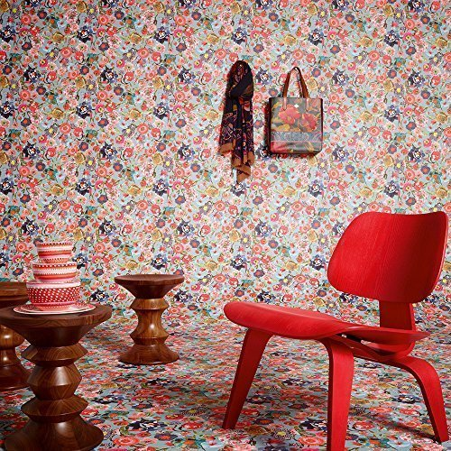 as-creation-oilily-floral-pattern-patchwork-flower-motif-textured-wallpaper-blue-red-961212