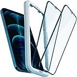 Spigen AlignMaster Cobertura Completa Protector Pantalla para iPhone 12 Pro Max - 2 Unidades