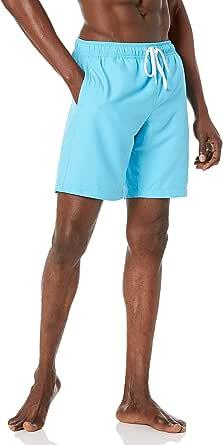 """Amazon Essentials Men's 9"""" Quick-Dry Swimming Trunks"""
