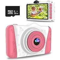 WOWGO Appareil Photo pour Enfants,Appareil Photo Numérique pour Enfants avec écran de 3.5 Pouces/12MP/1080P HD/Double…