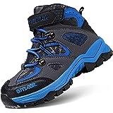 Zapatos de Senderismo Selva Chicos Caminando Senderismo Ligero al Aire Libre Zapatos Deportivos Botas Botas de Algodón para l