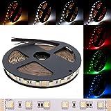 deutsche Marke DEMODU® - der RGB+CCT 5 in 1 PREMIUM 24V LED Streifen für professionelle Projekte - 5m 300 SMD 5050