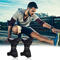 Knee Booster,Joint Support Knee Pads,Knee Patella Strap,Power Lift Spring Force, Ginocchiere Spring Force,Ginocchio…