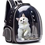 BURAQ Astronaut Space Transparent Capsule Breathable Airline-Approved, Ventilate Transparent Carrier Backpack for Travel, Hik