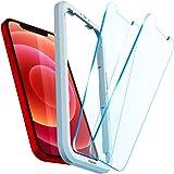 Spigen AlignMaster Protector Pantalla para iPhone 12 y iPhone 12 Pro - 2 Unidades