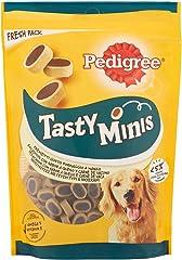 Pedigree Snacks Tasty Mini para Educar a Tu Perro, Sabor Queso y Buey, 140g