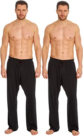 INSIGNIA 2 Pack Mens Pyjamas Lounge Pants Assorted Fabrics