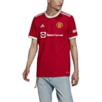 adidas Men's Manchester United, 2021/22 Season, Game Equipment Jersey Home Jersey