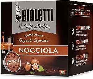 """Bialetti """"Gourmet"""" Gusto Nocciola - Confezione da 12 pezzi"""