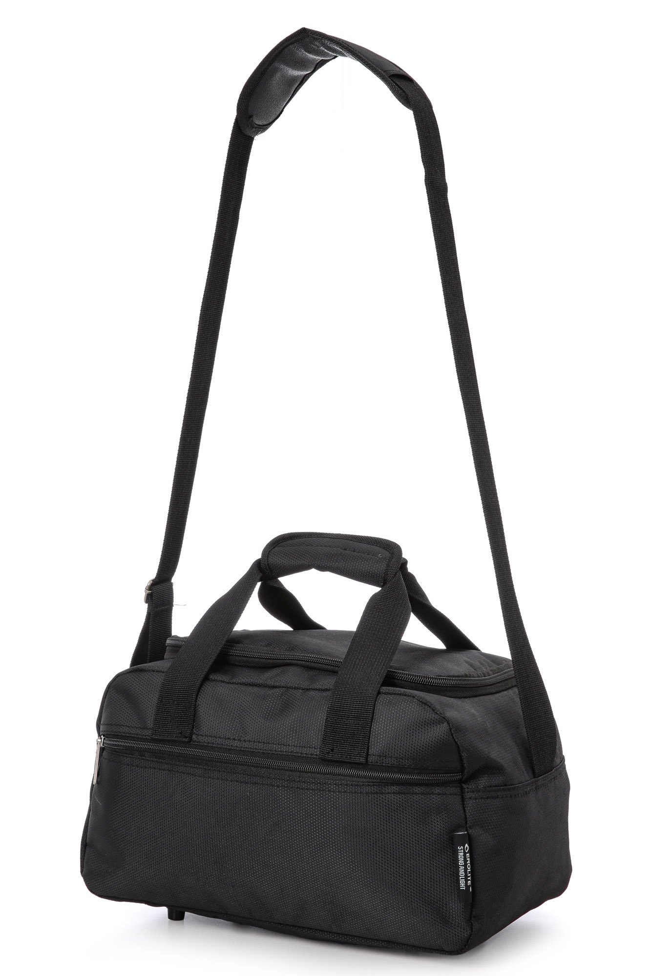 71NZL6k o%2BL - Aerolite Holdall Maximum Ryanair Hand Luggage Cabin Sized Flight Shoulder Bag Equipaje de Mano, 35 cm, 14 Liters, Negro…