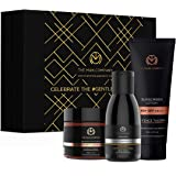 The Man Company Skin Care Pack (Sunscreen Lotion 59 ml, Brightening Cream 50 gm, Charcoal Face Wash 100 ml - Pack of 3