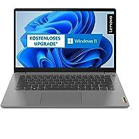 Lenovo IdeaPad 3i Laptop 35,6 cm (14 Zoll, 1920x1080, Full HD, WideView, entspiegelt) Slim Notebook (Intel Core i3…