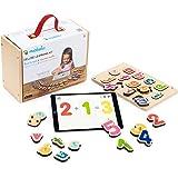 Marbotic - Deluxe Learning Kit - Jeu Interactif pour iPad - De 3 à 5 Ans - Lettres Alphabet & Chiffres en Bois Interactifs -