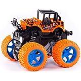 NK STAR Monster Trucks Toys for Boys, Stunt Car ,360 Degree Rotation 4 Wheels Drive Durable Friction Powered Truck Toys…