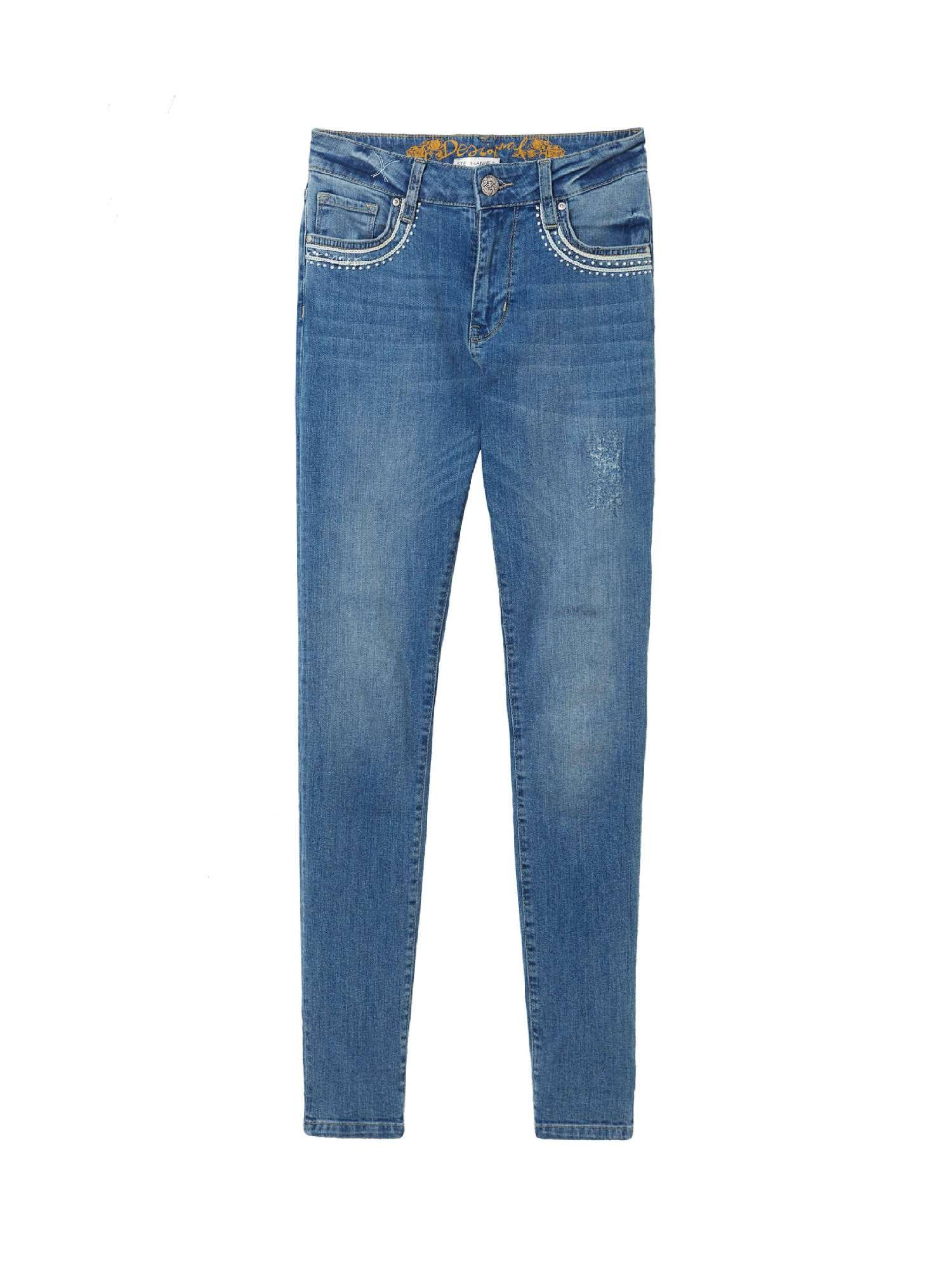 Desigual 18SWDD19 Jeans Mujeres