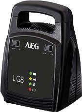 AEG Automotive 10273 Batterieladegerät LG 8 (12 Volt, 8 Ampere, LED Anzeige, Erhaltungsladegerät)