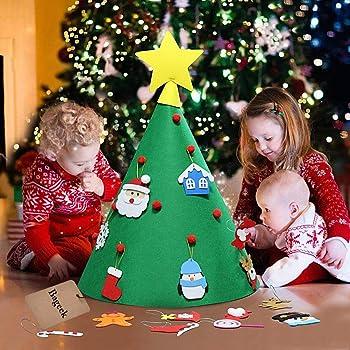 New Deluxe Felt Christmas Tree Children Toddler Kids UK Christmas Felt Tree