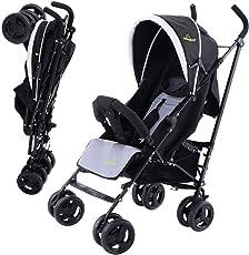 COSTWAY Kinderbuggy Reisebuggy Sportwagen Kinderwagen Buggy Spazierwagen Kinderbuggy Babywagen klappbar