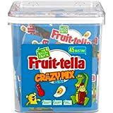 Fruittella Crazy Mix Jar Caramelle Gommose Gusti Assortiti con Succo di Frutta e Aromi Naturali, Colori Naturali, Senza…