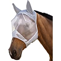 Harrison Howard Horse Fly Mask, Balck, Cavalleria Unisex Adulto
