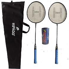 Hipkoo Grab Badminton Set with 3 Shuttlecocks Badminton Kit