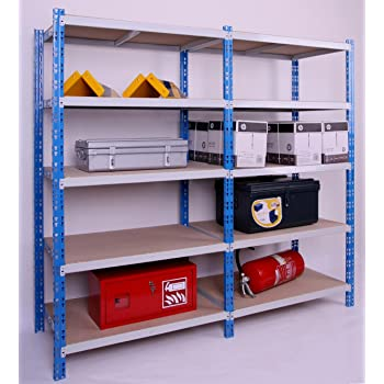 rollregal schwerlast 300kg hxbxt 188x100x60cm 5 b den lichtgrau fahrbares mobiles regal. Black Bedroom Furniture Sets. Home Design Ideas