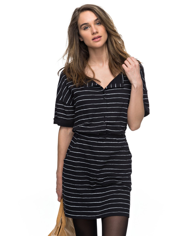 Roxy Feel It All – Vestido de Maga Corta para Mujer ERJKD03132