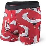 SAXX Underwear Co. Boxer - Biancheria Intima Platino - Boxer Con Patta E Supporto Per Marsupio Da Baseball Integrato|