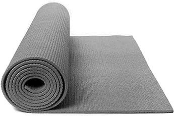 QuickShel Yoga Mat Set, 6mm (Grey)