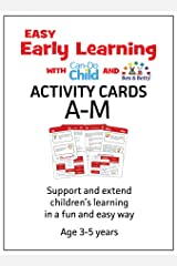 Easy Early Learning EYFS Activity Cards age 3-5 years, A-Z Cards