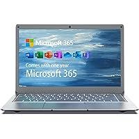 Jumper Laptop 13,3 Zoll (Microsoft Office 365, 4GB DDR3, 64GB eMMC, Intel Celeron N3350, Windows 10 Home, Intel HD…